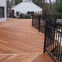 Brazilian tigerwood decking