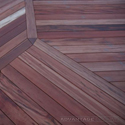 tigerwood decking upclose