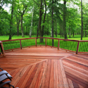 outdoor tigerwood decking
